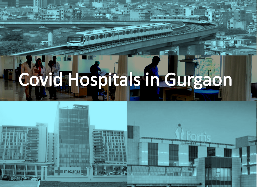 List of Covid Hospitals in Gurgaon